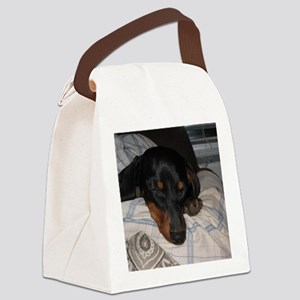 Sleepy Time Canvas Lunch Bag