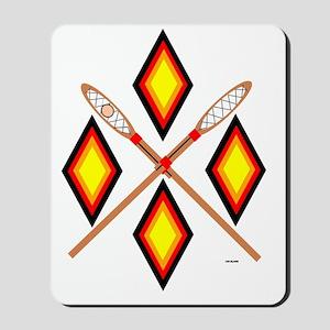 SOUTHEAST TRIBAL STICKBALL Mousepad
