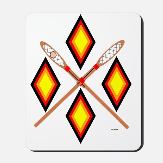 SOUTHEAST TRIBAL STICKBALL Mousepad