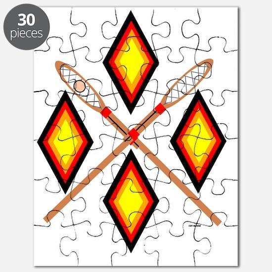 SOUTHEAST TRIBAL STICKBALL Puzzle