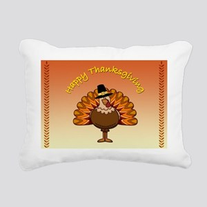 Happy Thanksgiving Rectangular Canvas Pillow