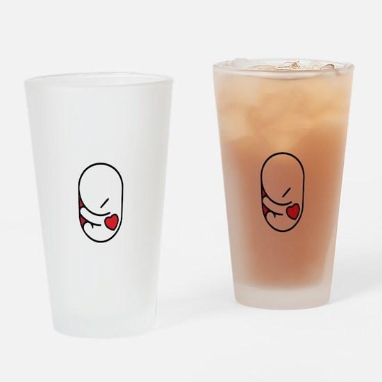 I love my parasite Drinking Glass