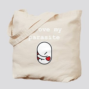 I love my parasite Tote Bag