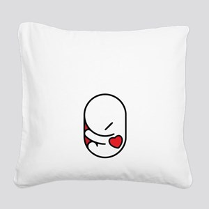 I love my parasite Square Canvas Pillow