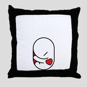 I love my parasite Throw Pillow