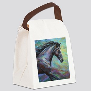 Fuji painting Canvas Lunch Bag
