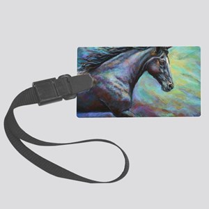Fuji painting Large Luggage Tag