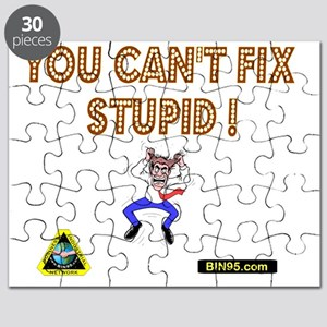 You cant fix stupit! Puzzle