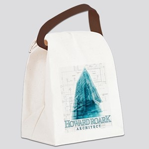Howard Roark Architect Canvas Lunch Bag