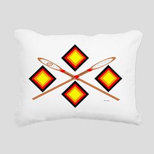 SOUTHEAST TRIBAL STICKBA Rectangular Canvas Pillow