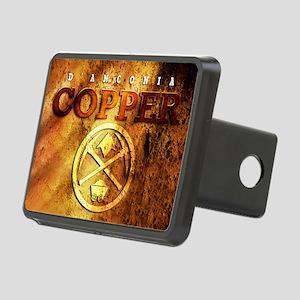 dAnconia Copper Rectangular Hitch Cover