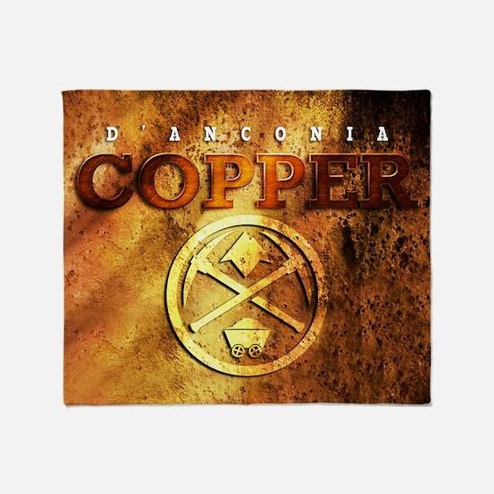 dAnconia Copper Throw Blanket