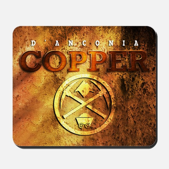 dAnconia Copper Mousepad