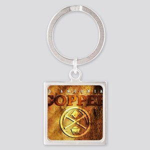 dAnconia Copper Square Keychain