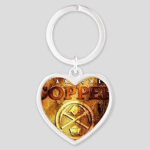 dAnconia Copper Heart Keychain