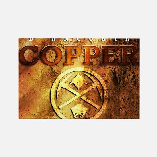 dAnconia Copper Rectangle Magnet