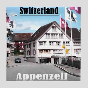 Flags of Switzerland Tile Coaster
