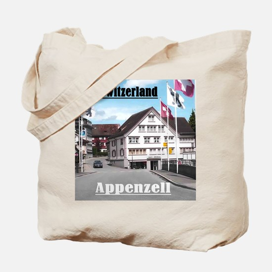 Flags of Switzerland Tote Bag
