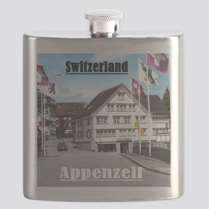 Flags of Switzerland Flask