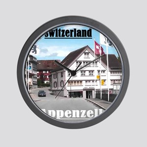 Flags of Switzerland Wall Clock