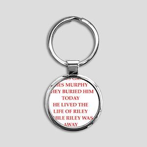 murphy Round Keychain