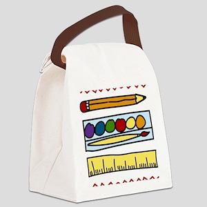 Art Supplies Canvas Lunch Bag