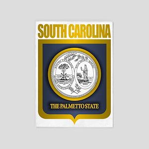 South Carolina State Seal (B) 5'x7'Area Rug