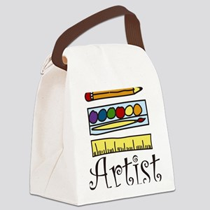 Artist Canvas Lunch Bag