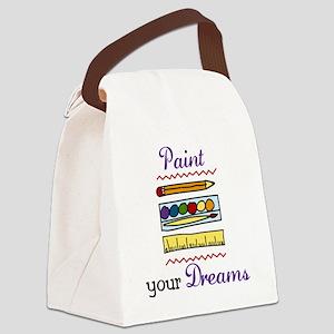 Paint Your Dreams Canvas Lunch Bag