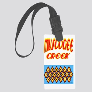 MUSCOGEE CREEK Large Luggage Tag