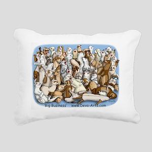 Big business T Rectangular Canvas Pillow