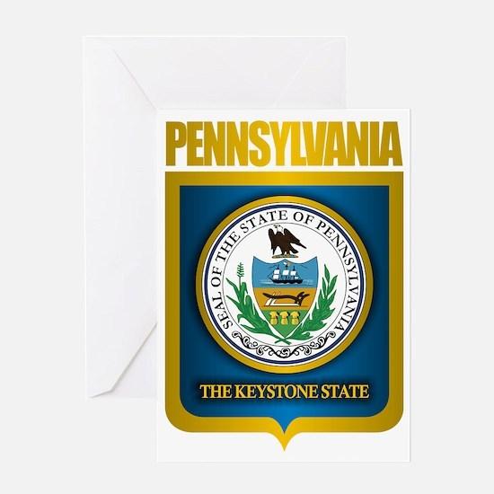Pennsylvania State Seal (B) Greeting Card