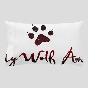 My Wolf Awaits Pillow Case