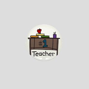 Teacher Desk Mini Button