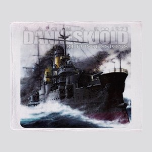 Danneskjold Repossessions Ship Throw Blanket