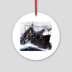 Danneskjold Repossessions Ship Round Ornament