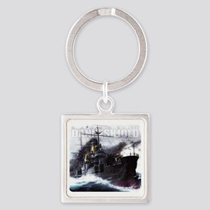 Danneskjold Repossessions Ship Square Keychain