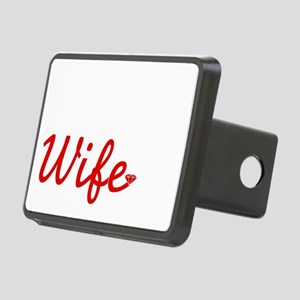 Cute Army Wife Rectangular Hitch Cover