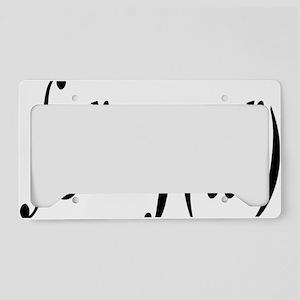 integralfunrectangle License Plate Holder