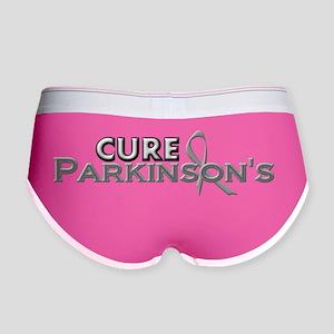 Cure Parkinsons Grey Text 3D Women's Boy Brief