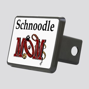 Schnoodle Mom Rectangular Hitch Cover