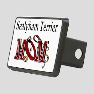 Sealyham Terrier Mom Rectangular Hitch Cover