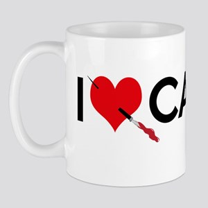I Love (Heart) Castle Mug