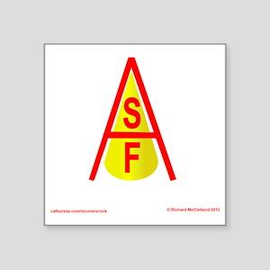 """SFA LOGO Square Sticker 3"""" x 3"""""""