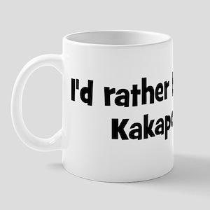 Rather be a Kakapo Mug
