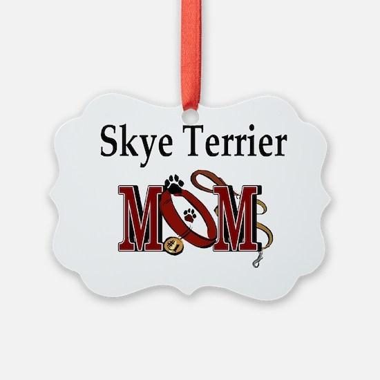 Skye Terrier Mom Ornament