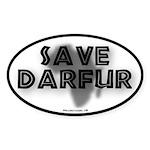 Save Darfur Oval Sticker