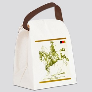 Dressage Cafe - Capriole Canvas Lunch Bag