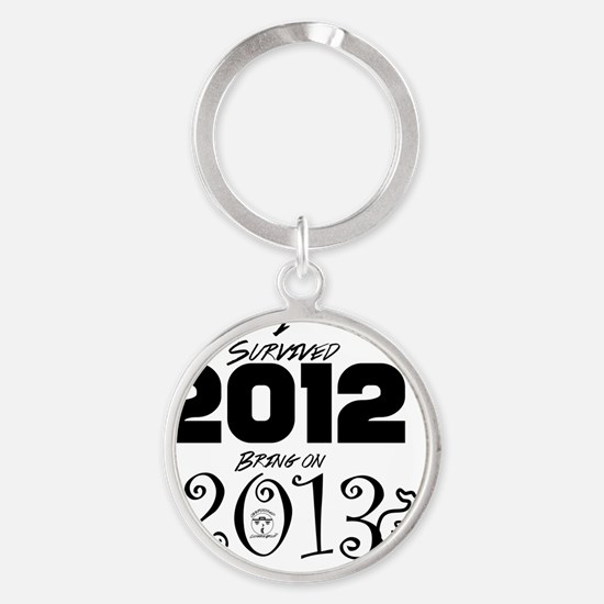 ODCG Happy New Year  Round Keychain