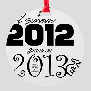 ODCG Happy New Year  Round Ornament